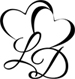 Lia Davis Small Logo - Black75